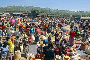 Markttag in Jinka