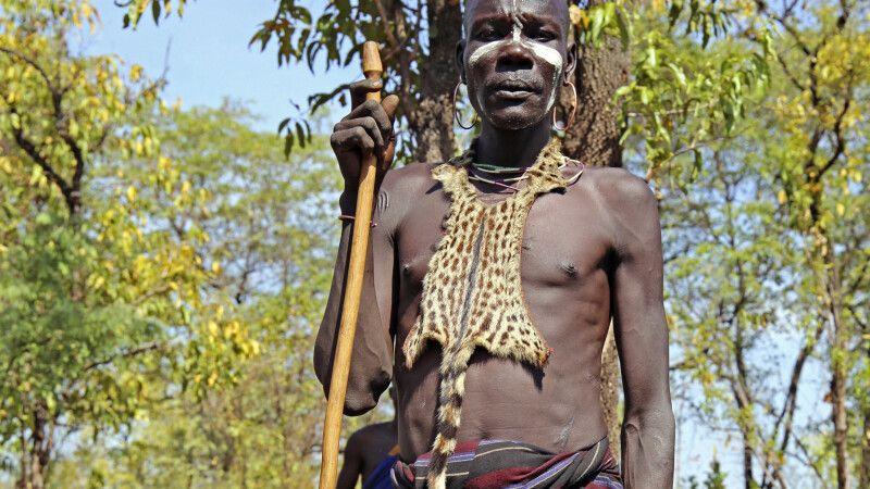 Mursi-Chief Nyarabi © Diamir