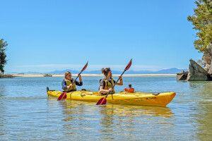 Kayaken im Abel Tasman NP