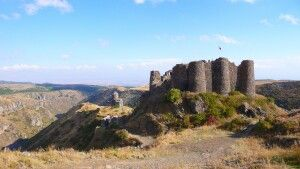Zerstörte Festung Amberd