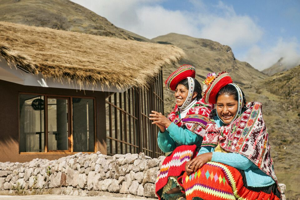 Begegnung mit den Bewohnern der Anden