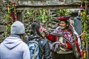 Kontakt zu den Einheimischen auf dem Lares Trek