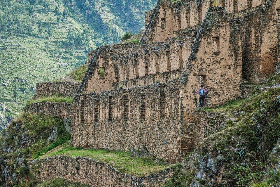 Ollantaytambo – Kultur pur während des Lares Treks