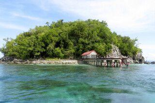 Vorgelagerte Insel von Ternate