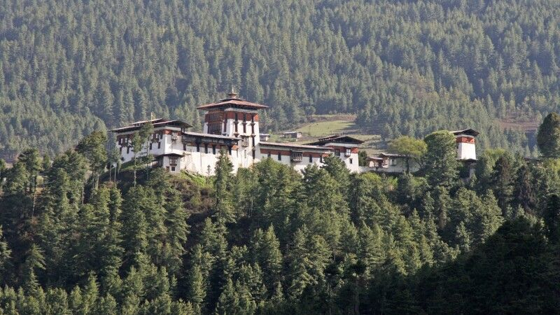 Dzong in Bumthang © Diamir