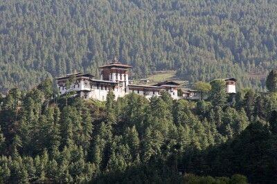 Jakar Dzong in Bumthang