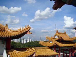 Stadtansicht von Kuala Lumpur