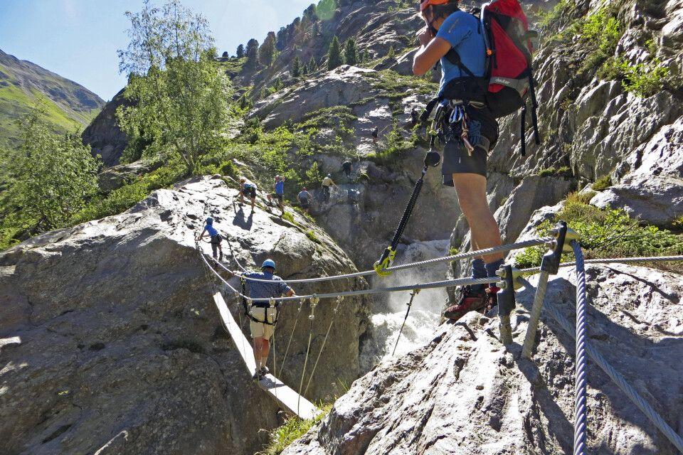 Klettersteig in Österreich