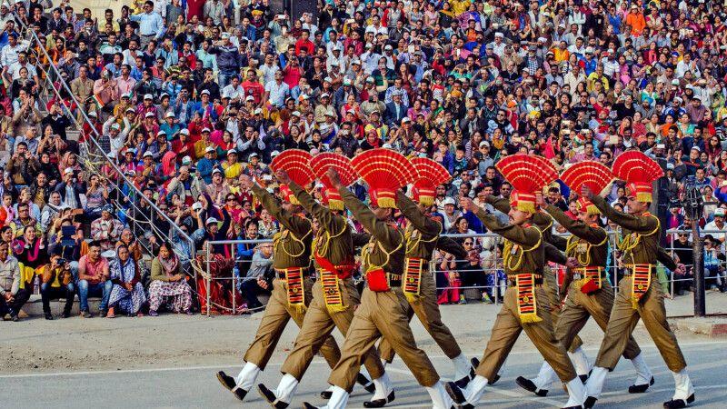 Grenzzeremonie Amritsar (Wagah Border) © Diamir