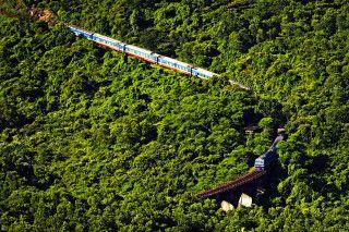 Mit dem Zug durch Vietnam - Wolkenpass