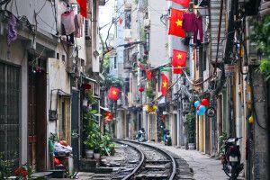 Hanoi - mit dem Zug durch Vietnam