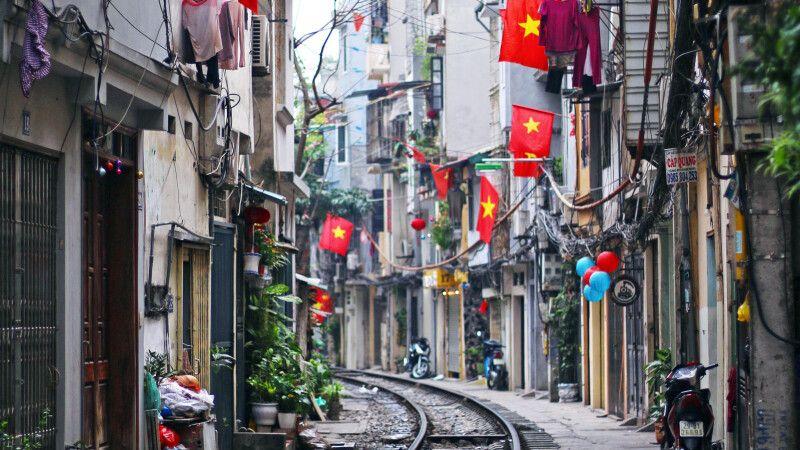 Hanoi – mit dem Zug durch Vietnam © Diamir