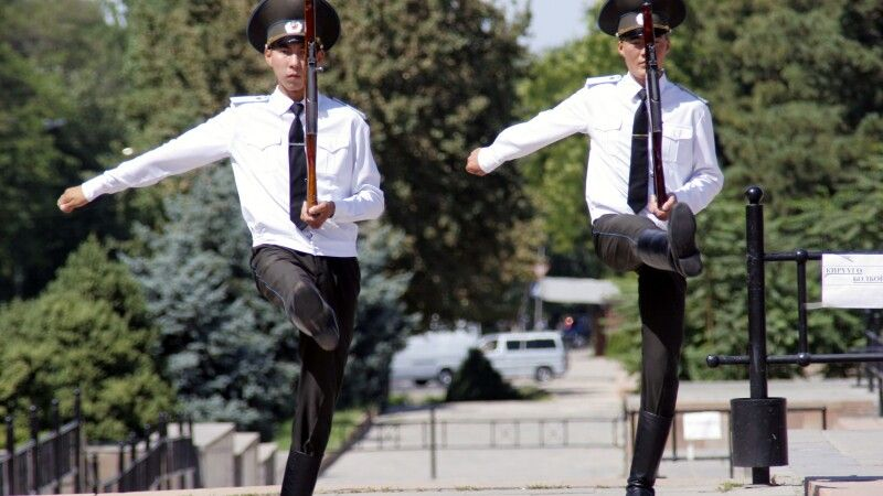 Wachablösung Bishkek © Diamir