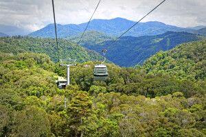 Kuranda Skyrail - Seilbahnfahrt über den Regenwald