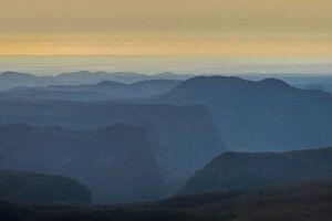 Morgennebel im Blue-Mountain-Nationalpark