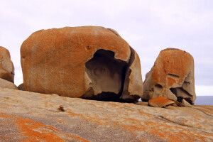 An den Remarkable Rocks auf Kangaroo Island