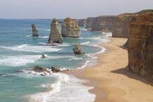 Zwölf Apostel im australischen Bundesstaat Victoria im Port-Campbell-Nationalpark, Great Ocean Road