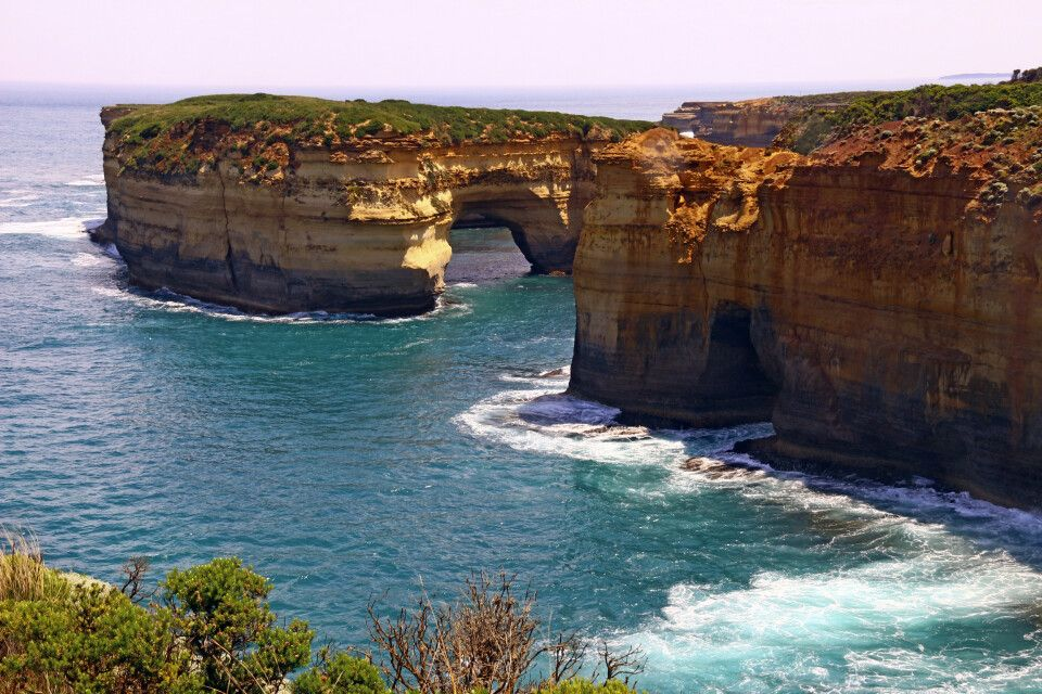 Island Arch Lookout an der Great Ocean Road