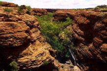 Schlucht des Kings Canyon im Watarrka-Nationalpark, NT