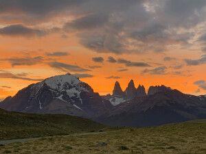 Abendstimmung im Nationalpark Torres del Paine