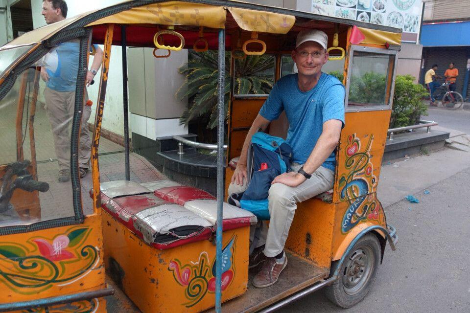 Rikscha- und Tuktuk-Fahren mach Spaß
