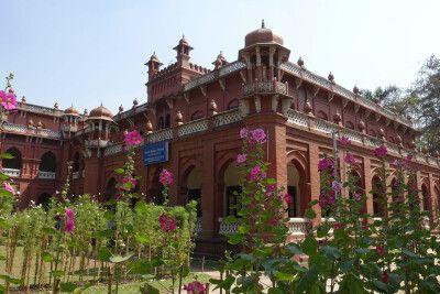 Uni-Hauptgebäude in Dhaka