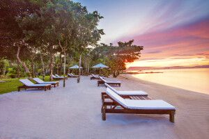 Green Bay Resort auf Phu Quoc - Am Strand