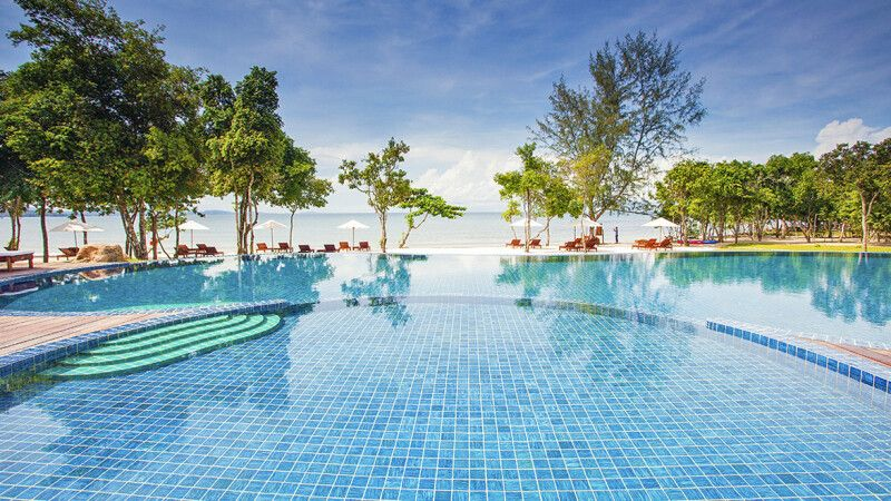 Green Bay Resort auf Phu Quoc – Pool und Strand © Diamir