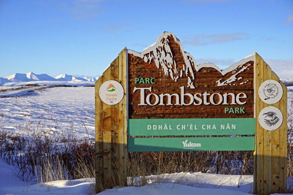 Im winterlichen Tombstone-Nationalpark