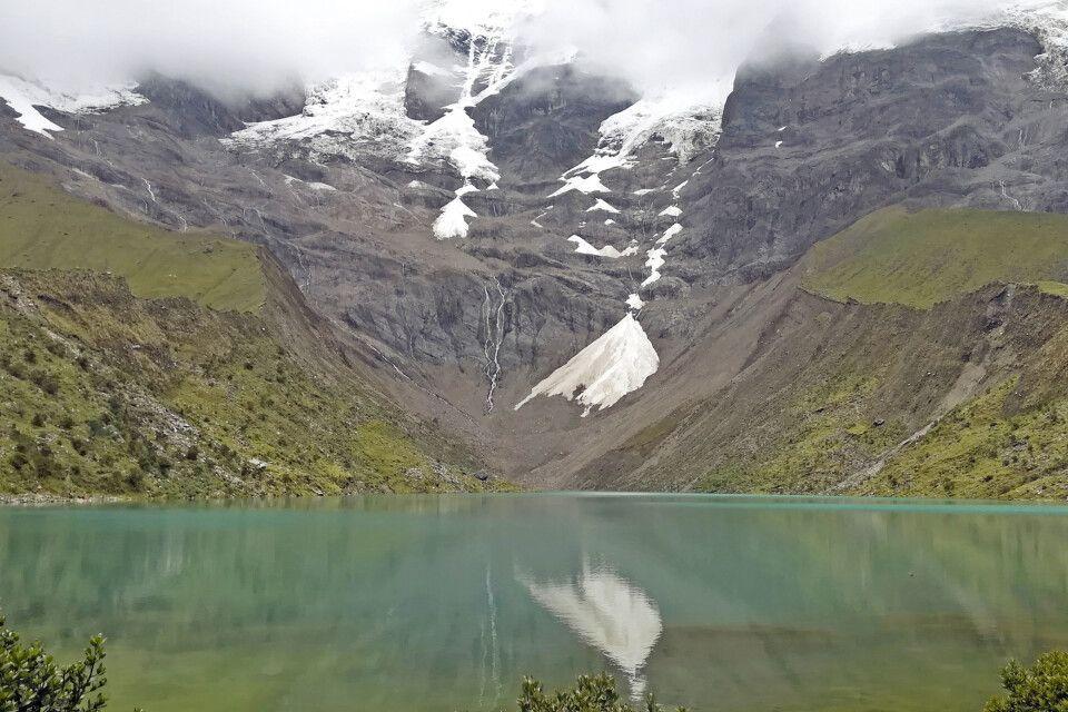 Die erste Akklimatisierungswanderung zum Gletschersee Humantay