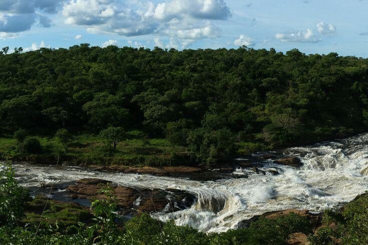 Murchison Fall-Panorama