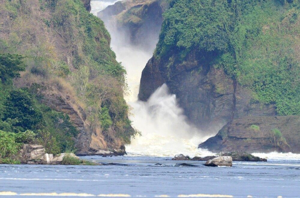 Die Wasserfälle Murchison Falls