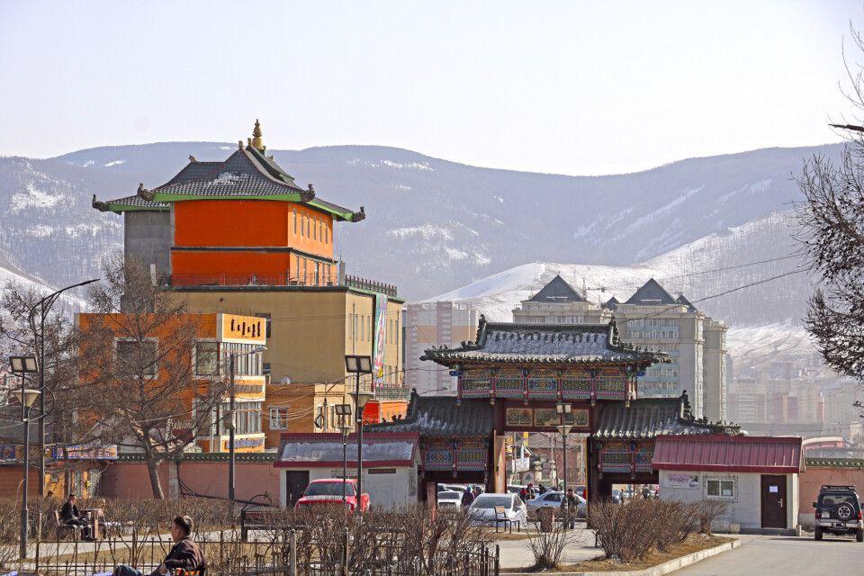 Kontraste in Ulaanbaatar