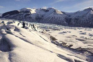 Auf dem Gletscher im Skaftafell-Nationalpark