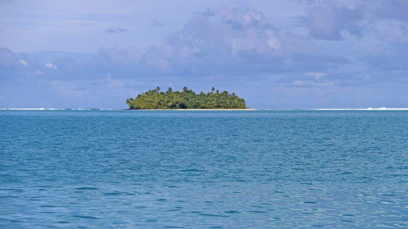 Während einer Lagunen-Rundfahrt auf Aitutaki © Diamir