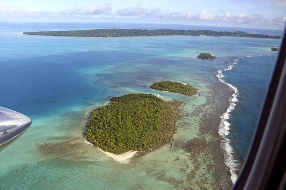 Die traumhafte Lagune von Aitutaki
