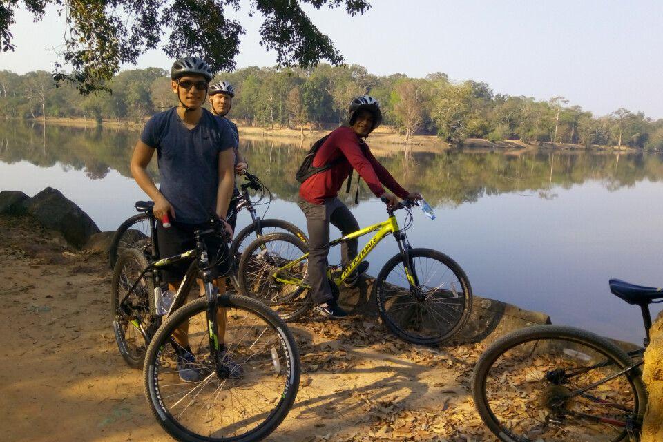 Angkor aktiv auf einer Radtour erleben