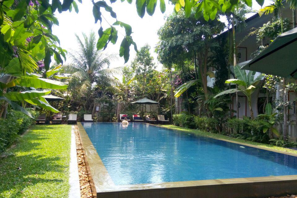 Schönes Hotel mit Pool zum Entspannen nach aktiven Tagen