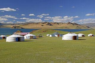 Unser Ger-Camp direkt am Schwarzen See