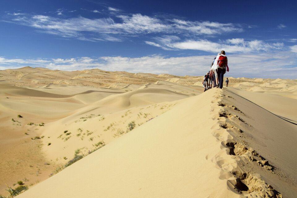 Unterwegs in den Sanddünen Bor Khyar