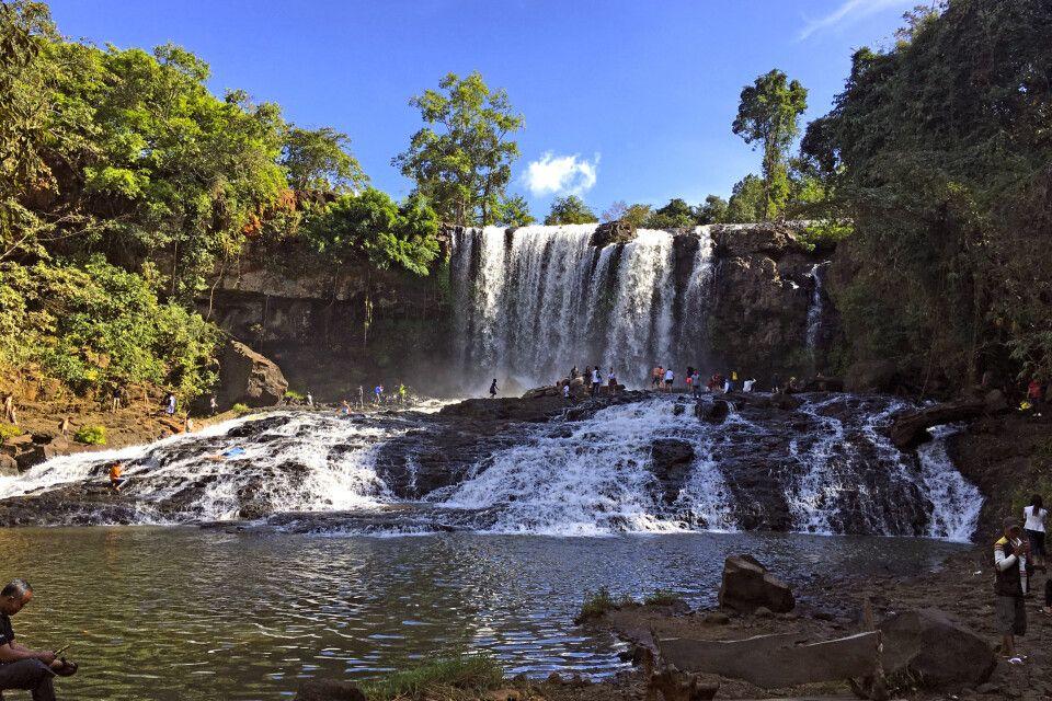 Boursra-Wasserfall in Mondulkiri