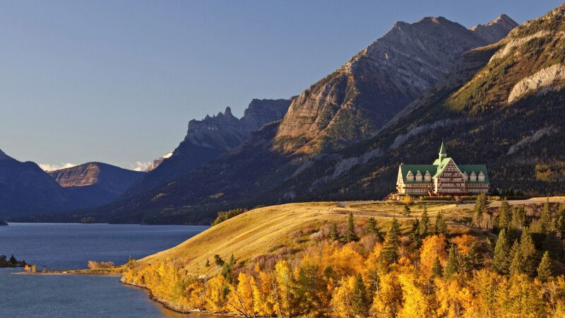 Prince of Wales Hotel, Waterton-Lakes-Nationalpark © Diamir