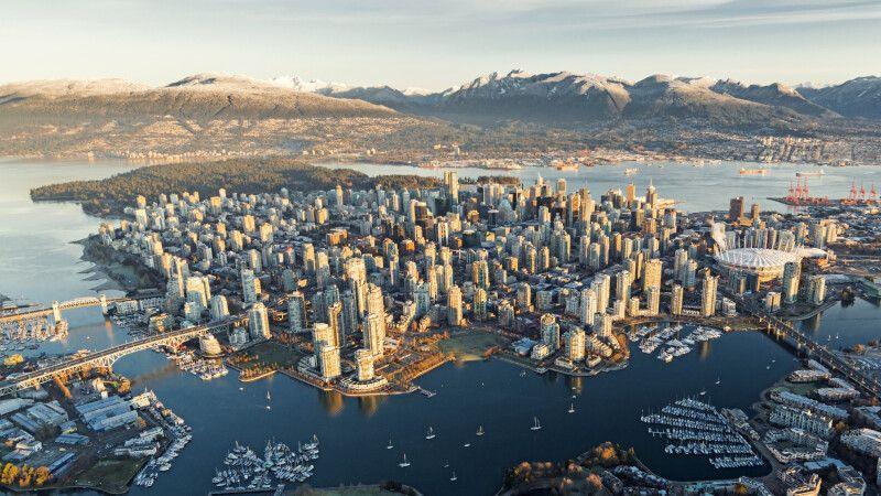 Luftansicht von Vancouver © Diamir