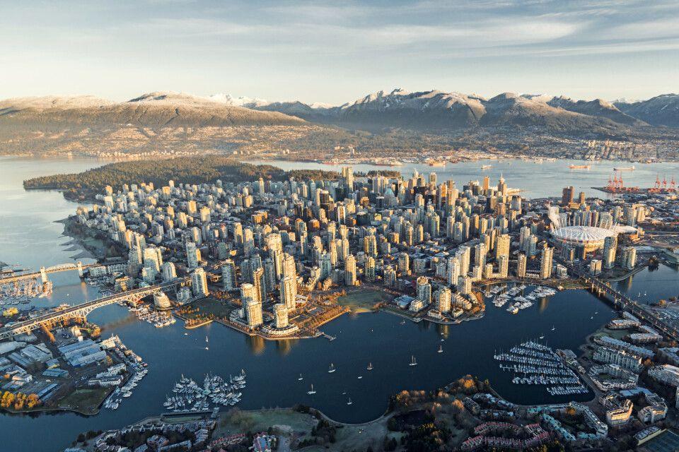 Luftansicht von Vancouver