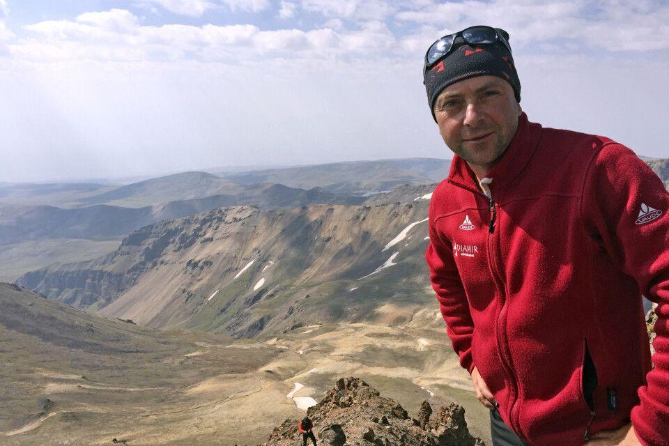 Reiseleiter Stefan Hilger im armenischen Hochland