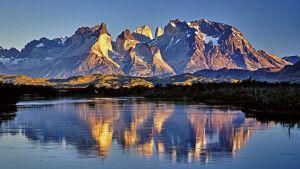 Das beeindruckende Massiv im Nationalpark Torres del Paine