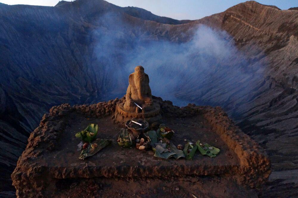 Am Vulkan Bromo