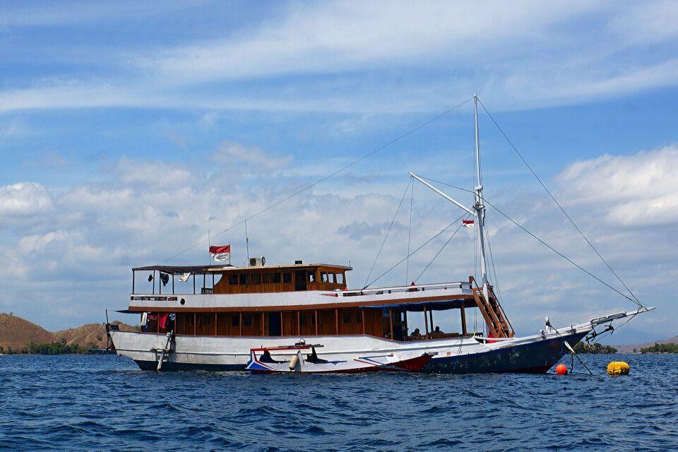 Boot mit 2-er Kabinen