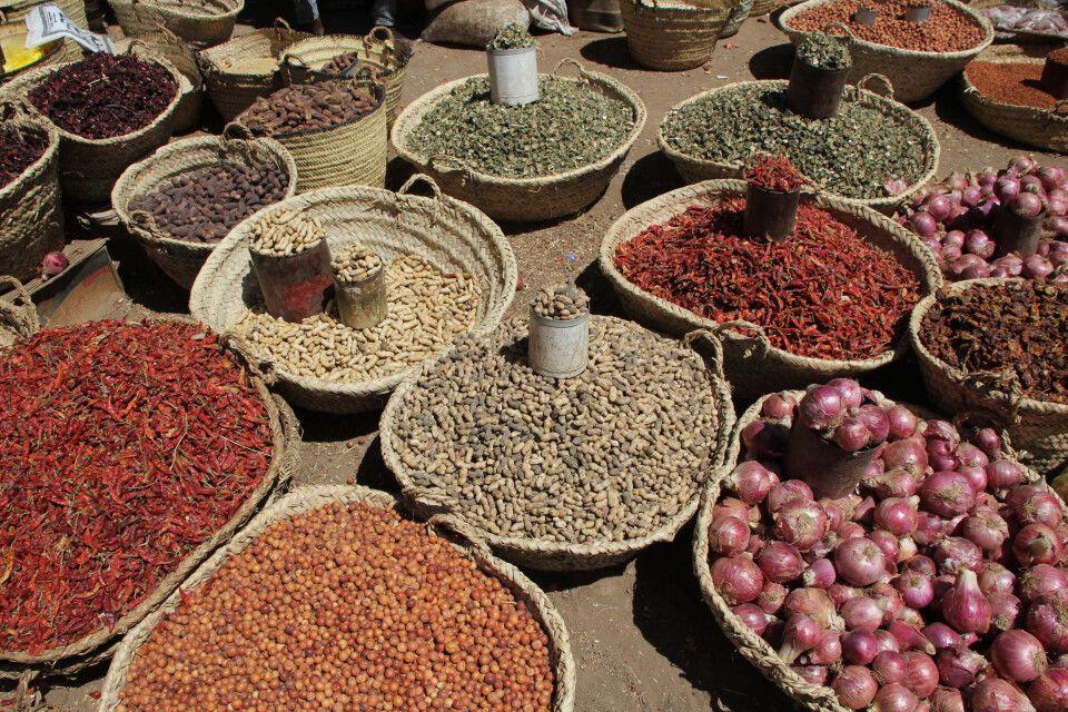 Auf dem Markt in Kassala