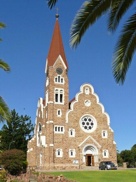 Die Christuskirche - ein Wahrzeichen der Hauptstadt Windhoek